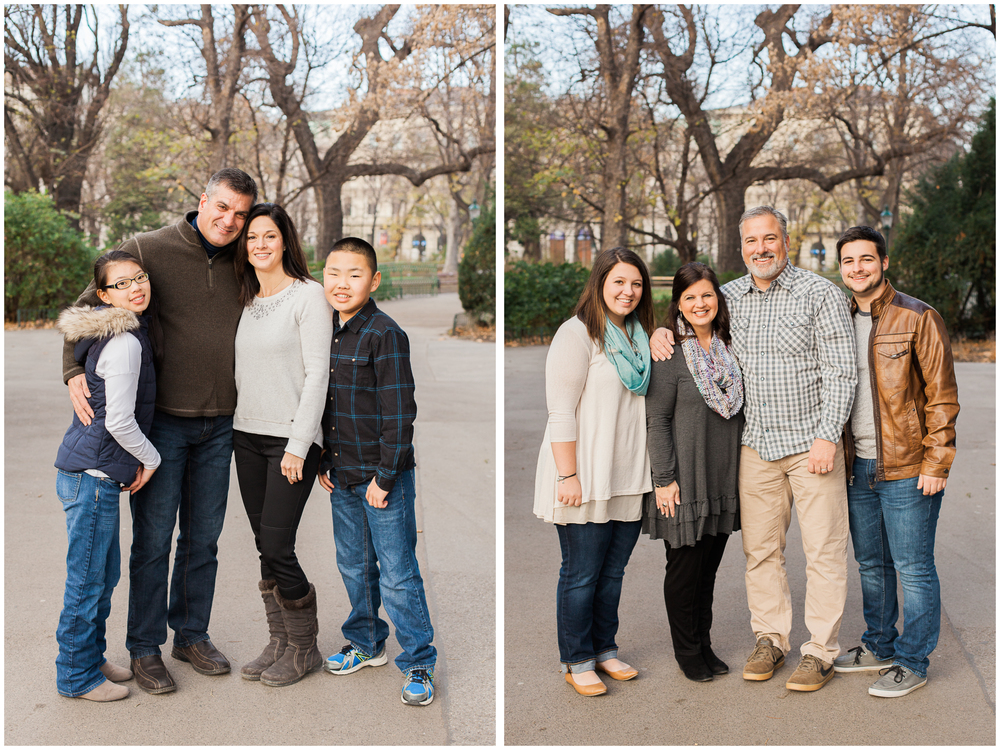 Winter Family Photos | Stadtpark, Vienna, Austria | Michelle Mock Photography
