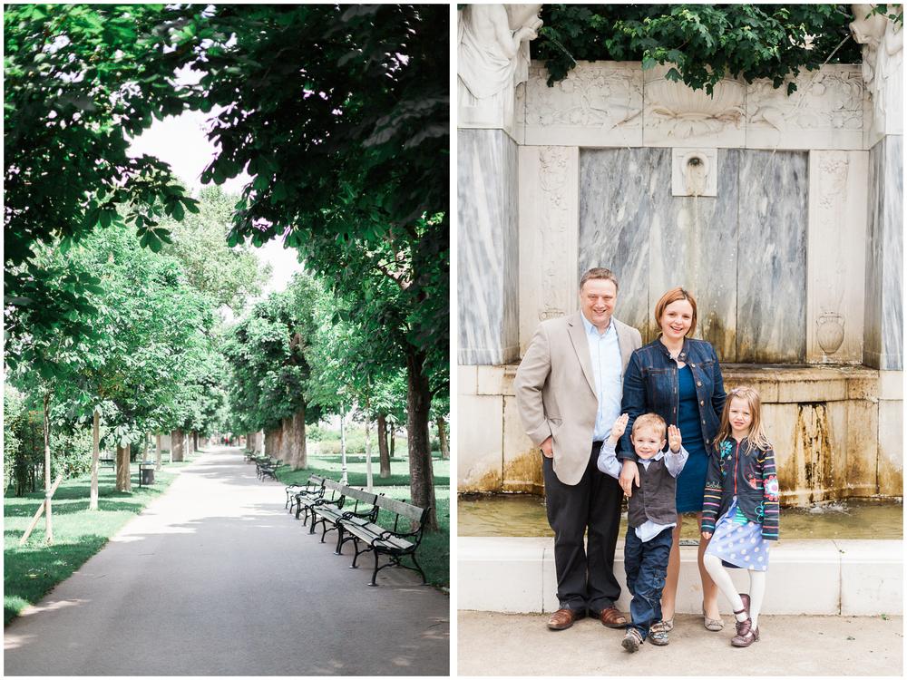 Vienna, Austria | Volksgarten Family Portraits | Michelle Mock Photography