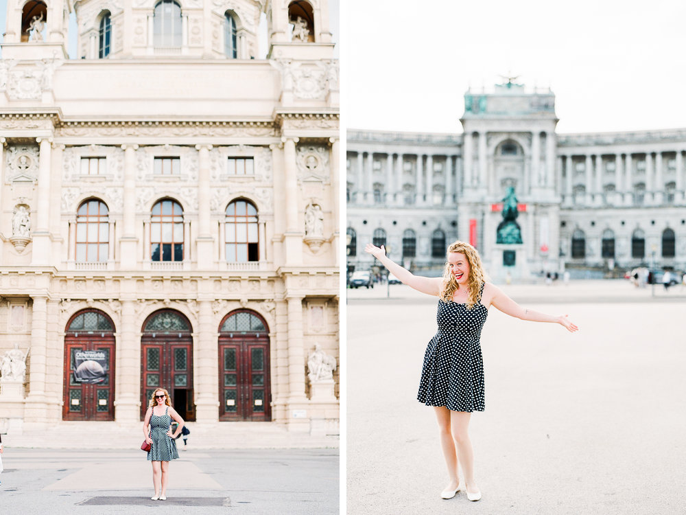 Vienna, Austria | Blogger Portraits | Michelle Mock Photography | Portrait Photographer | Vienna Film Photographer | Contax 645 | Fuji400
