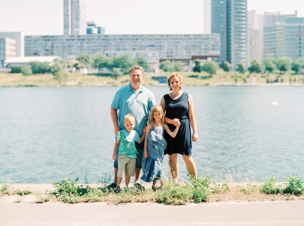 Donauinsel, Vienna | Family Portraits | Michelle Mock Photography | Portrait Photographer | Vienna Film Photographer | Contax 645 | Fuji400