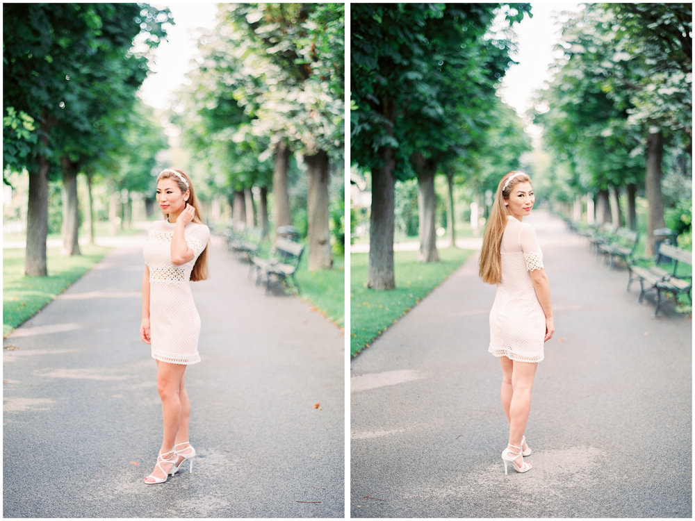 Portraits | Volksgarten, Vienna | Michelle Mock Photography | Vienna Portrait Photographer | Vienna Film Photographer | Contax 645 | Fuji400