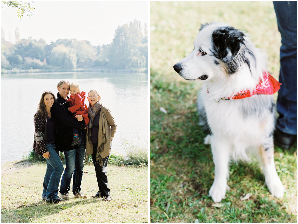 Family Fall Portraits | Kurpark Oberlaa, Vienna | Michelle Mock Photography | Vienna Portrait Photographer | Vienna Film Photographer | Contax 645 | Fuji400