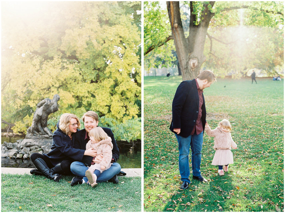 Family Portraits | Burggarten, Vienna, Austria | Michelle Mock Photography | Vienna Portrait Photographer | Vienna Film Photographer | Contax 645 | Fuji400H