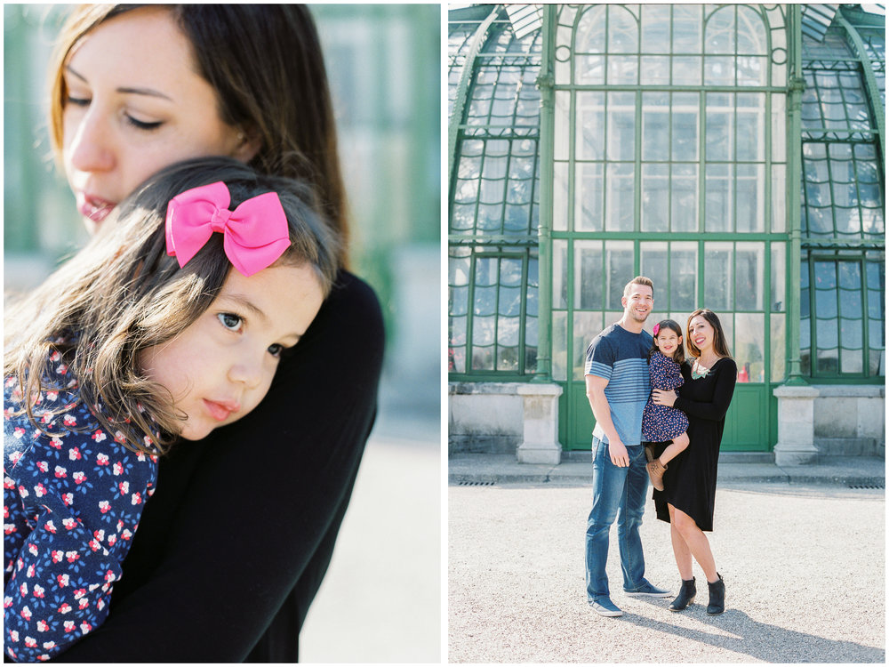 Michelle Mock Photography | Family Portraits | Family of Three | Vienna Portrait Photographer | Palmenhaus Schönbrunn | Vienna, Austria