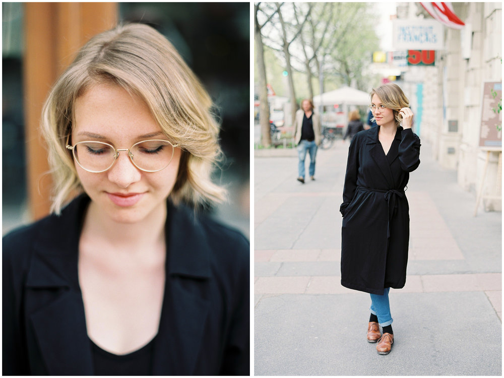 Film Photographer Portraits | Vienna, Austria | Michelle Mock Photography | Vienna Film Photographer | Contax645 | Fuji400