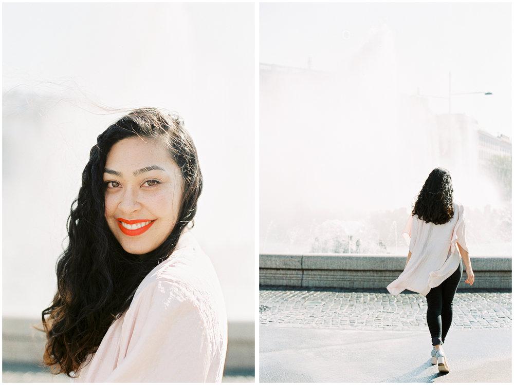 Vienna Portraits | Karlsplatz, Vienna | Michelle Mock Photography | Vienna Photographer | Canon 1V | Fuji400H
