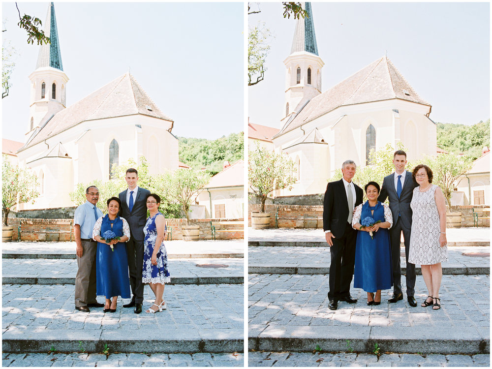 Austria Wedding | Thallern, Austria | Michelle Mock Photography | Vienna Wedding Photographer | Austrian Film Photographer | Contax 645 | Fuji400H