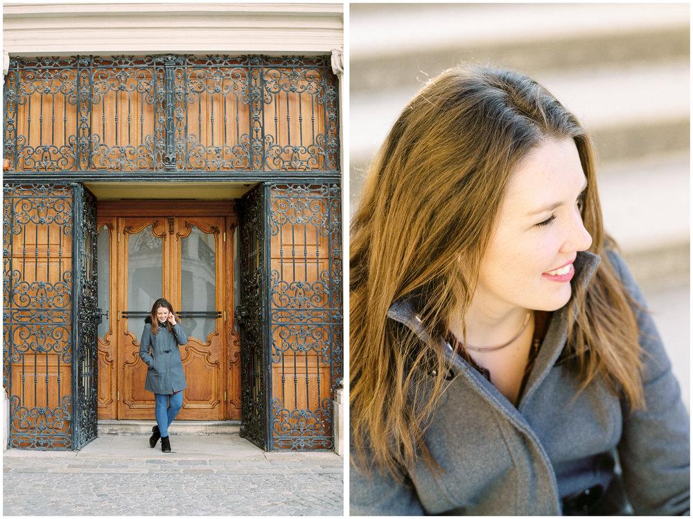 Blogger Portraits | Schönbrunn Palace, Vienna | Michelle Mock Photography | Vienna Photographer | Contax 645 | Fuji400H