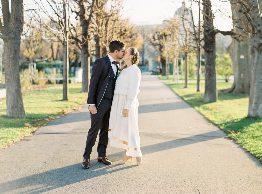 Vienna Wedding | Vienna, Austria | Michelle Mock Photography | Vienna Wedding Photographer | Vienna Film Photographer | Contax 645 | Fuji400H