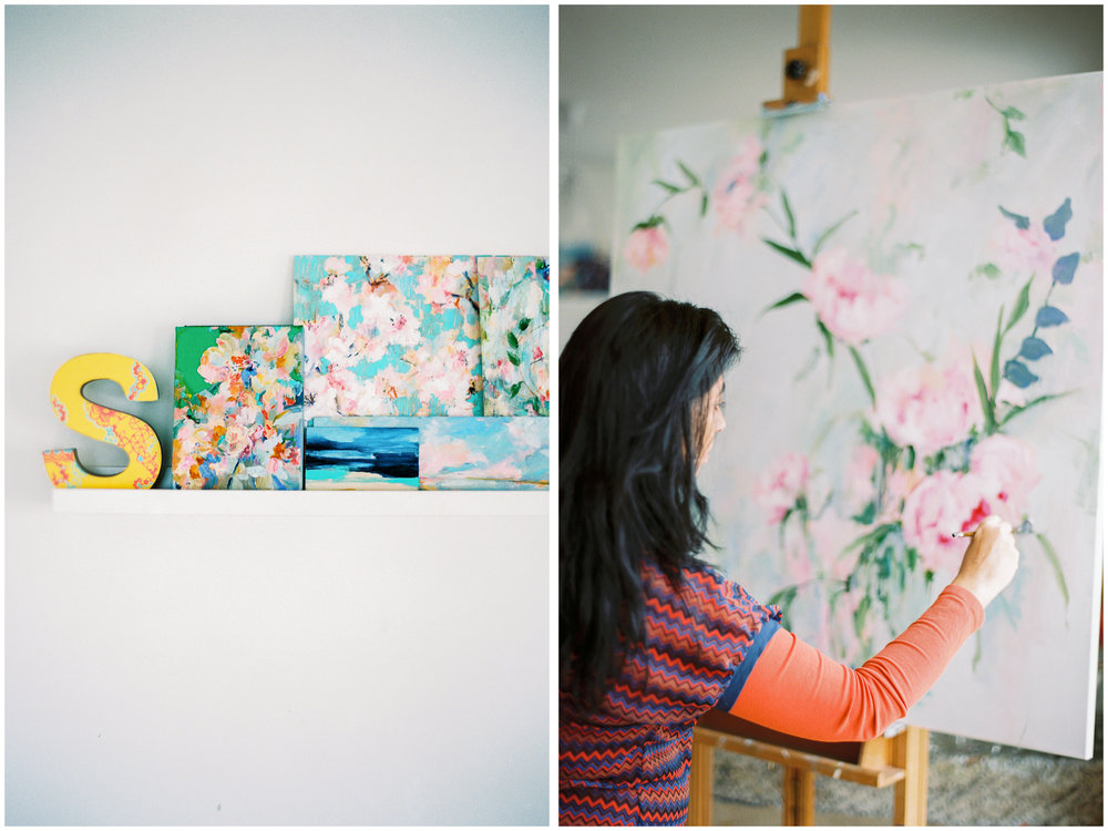Vienna, Austria | Contax 645 | Portra400 film | Michelle Mock Photography | Portrait Film Photographer | Artist Portraits