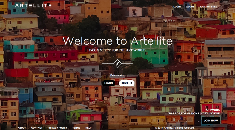 Artellite Website