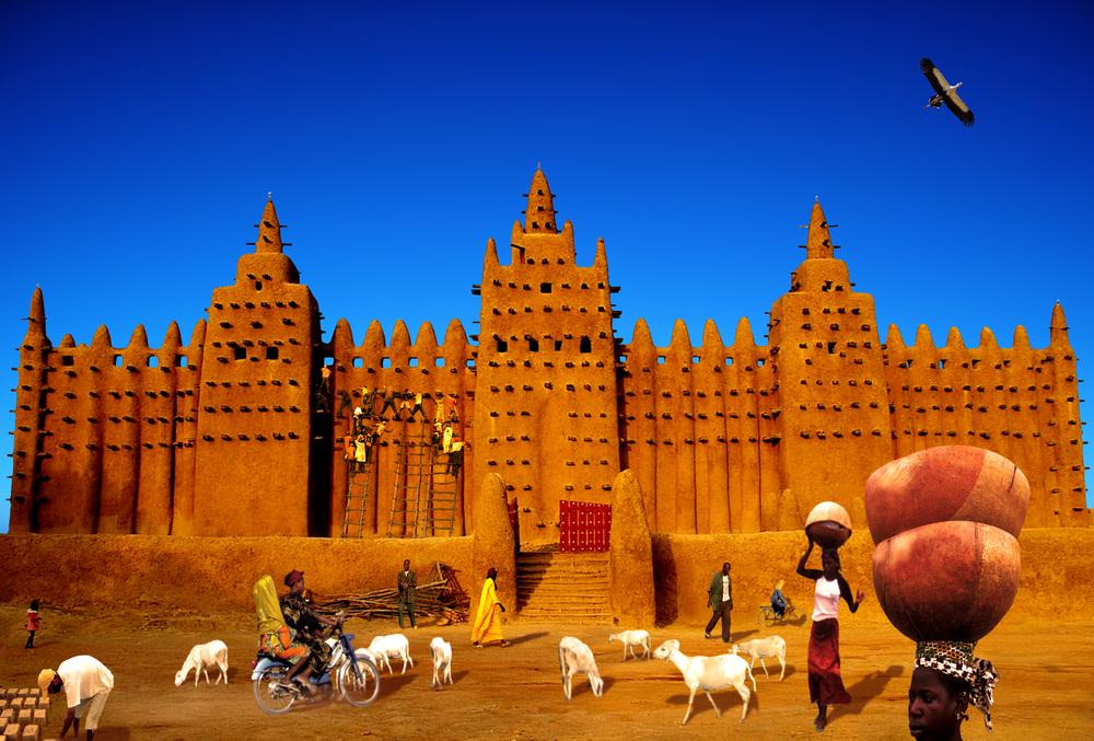Die Große Moschee von Djenné - Copyright CIRCA Press.jpg