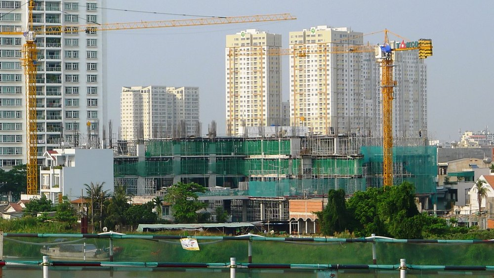 View of the International School from the Saigon River