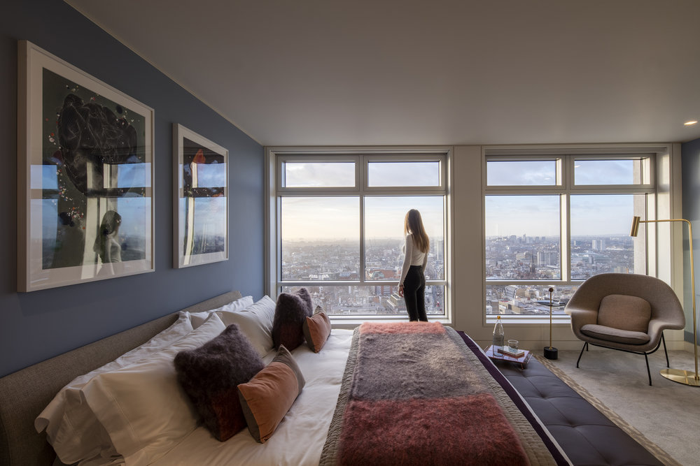Centre Point Tower, bedroom, 3-bed apartment © Luke Hayes (2).jpg