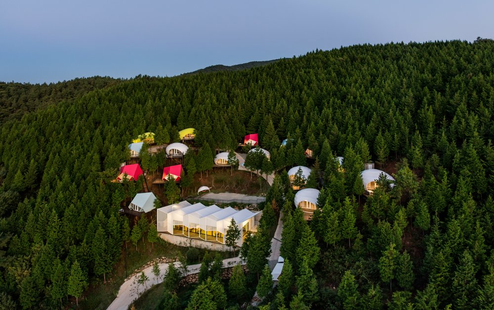 1) Aerial view of the SJCC glamping resort © Kyungsub Shin_LOWRES.jpg