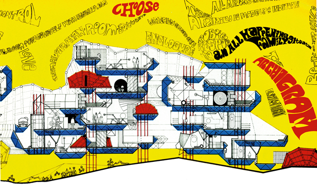 Control and Choice Dwellings, Part Section, Warren Chalk, Peter Cook, Dennis Crompton, Ron Herron, Archigram 1967 © ARCHIGRAM ARCHIVES.jpg