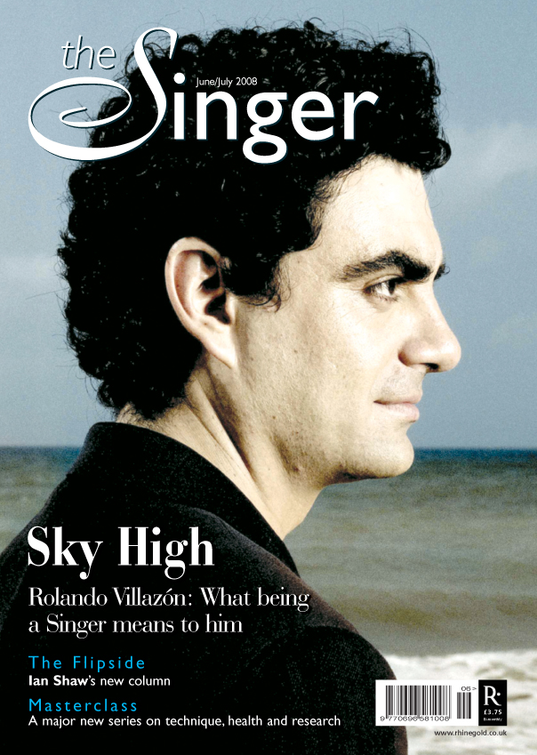Tenor Rolando Villazon THE SINGER
