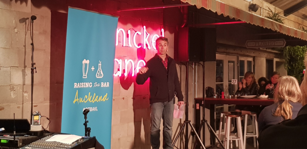 We returned to Auckland for the second year, and heard 20 speakers across 10 bars. The locals got to have a drink in hand whilst learning about Blockchain, Big Brother and travelling at 400km/h!   Listen to those talks and many more podcasts from our Auckland event here!