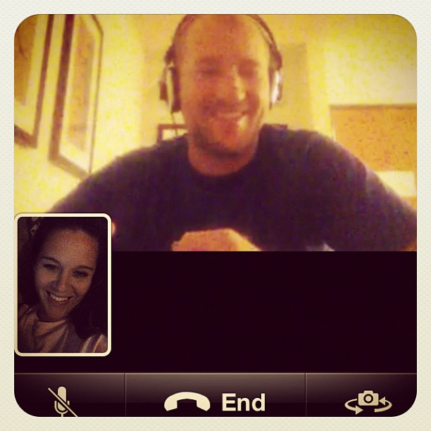 THE facetime call :)