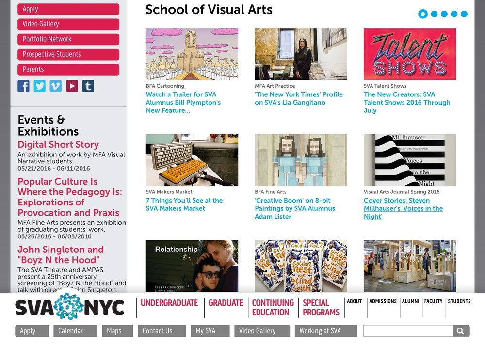 sva edu Features Page — Brian E  Smith / Art Director