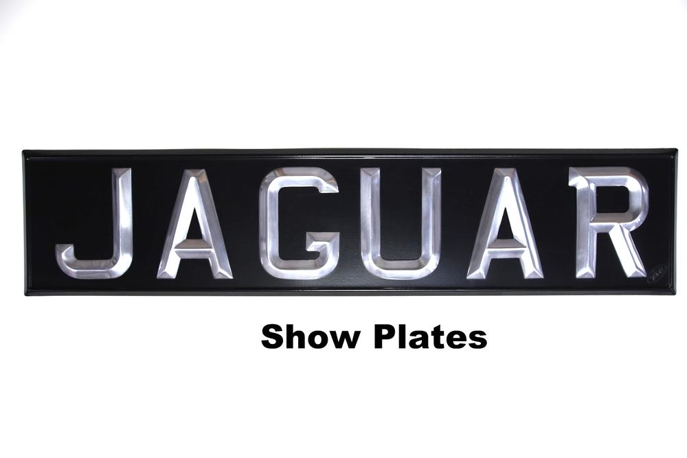 JAGUAR Show Plate
