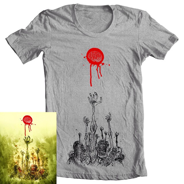 Limited edition Ben Templesmith T-shirt + print package for ONE WEEK ONLY! Comes with a signed, numbered and embossed limited edition print. Once the week is over its gone forever. Available at 44flood.bigcartel.com