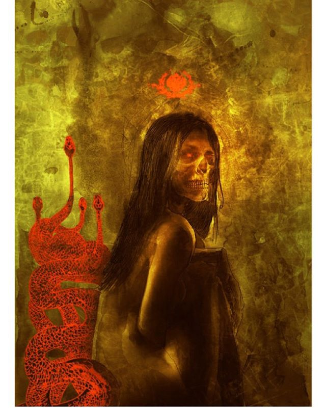 New Ben Templesmith limited-time offer print available in our store for just 6 more days. Go to 44flood.bigcartel.com #DarkArt #Lust #zombie #comics