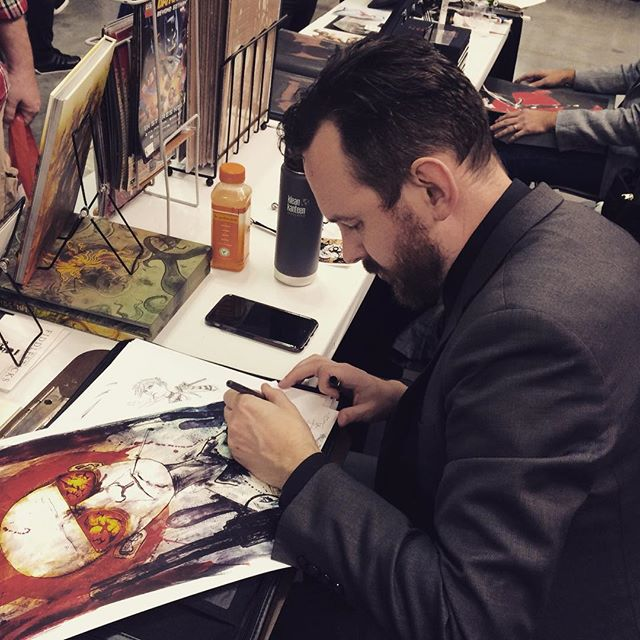 That @templesmith guy signing away at NYCC.