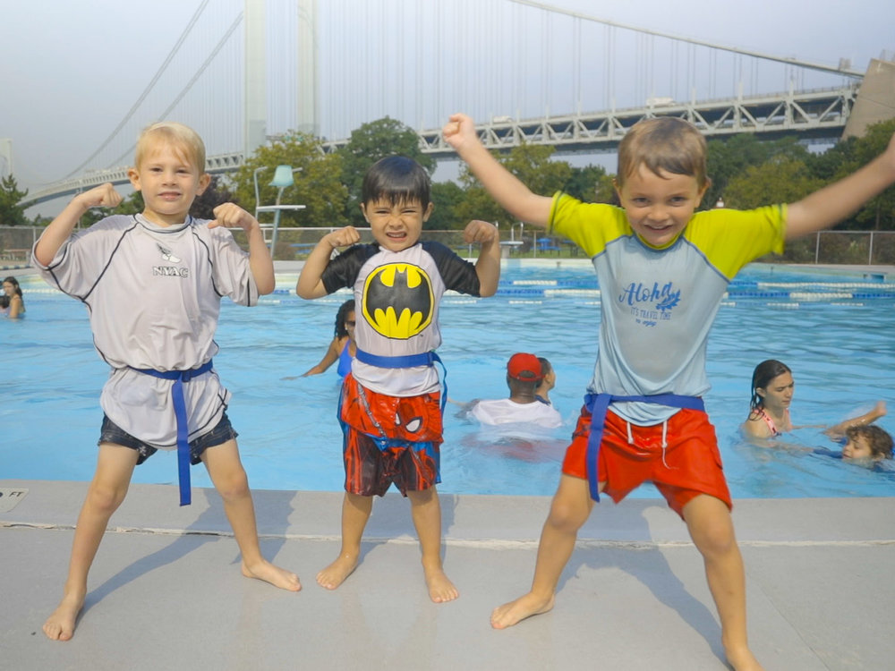 Instructional Swim - Learning to swim or training for the 2030 Olympics? We've got you covered. Our swim program, led by our very own Beansprouts Aquatics Director, is designed with every child in mind - whether it be their first time in the pool, or their 1,000th.