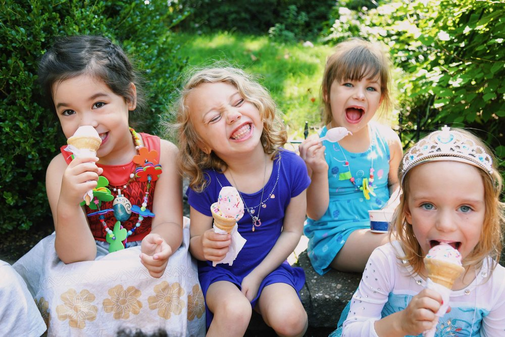 Ice Cream Truck - Every Friday, we cool down in the big yard with our very own ice cream truck. Campers face the challenging decision of whether or not to add rainbow or chocolate sprinkles to their cone. It's a camp favorite that we all look forward to!