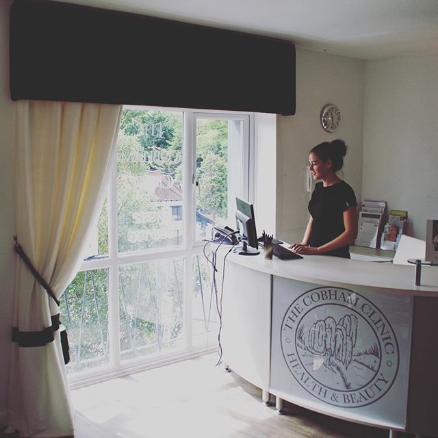 The sun is shining here at the Cobham clinic and we have lots of happy patients receiving beauty, sports massage and osteopathy treatment today! ☀ #beauty #skincare #Cobham #sports #massage #osteopathy