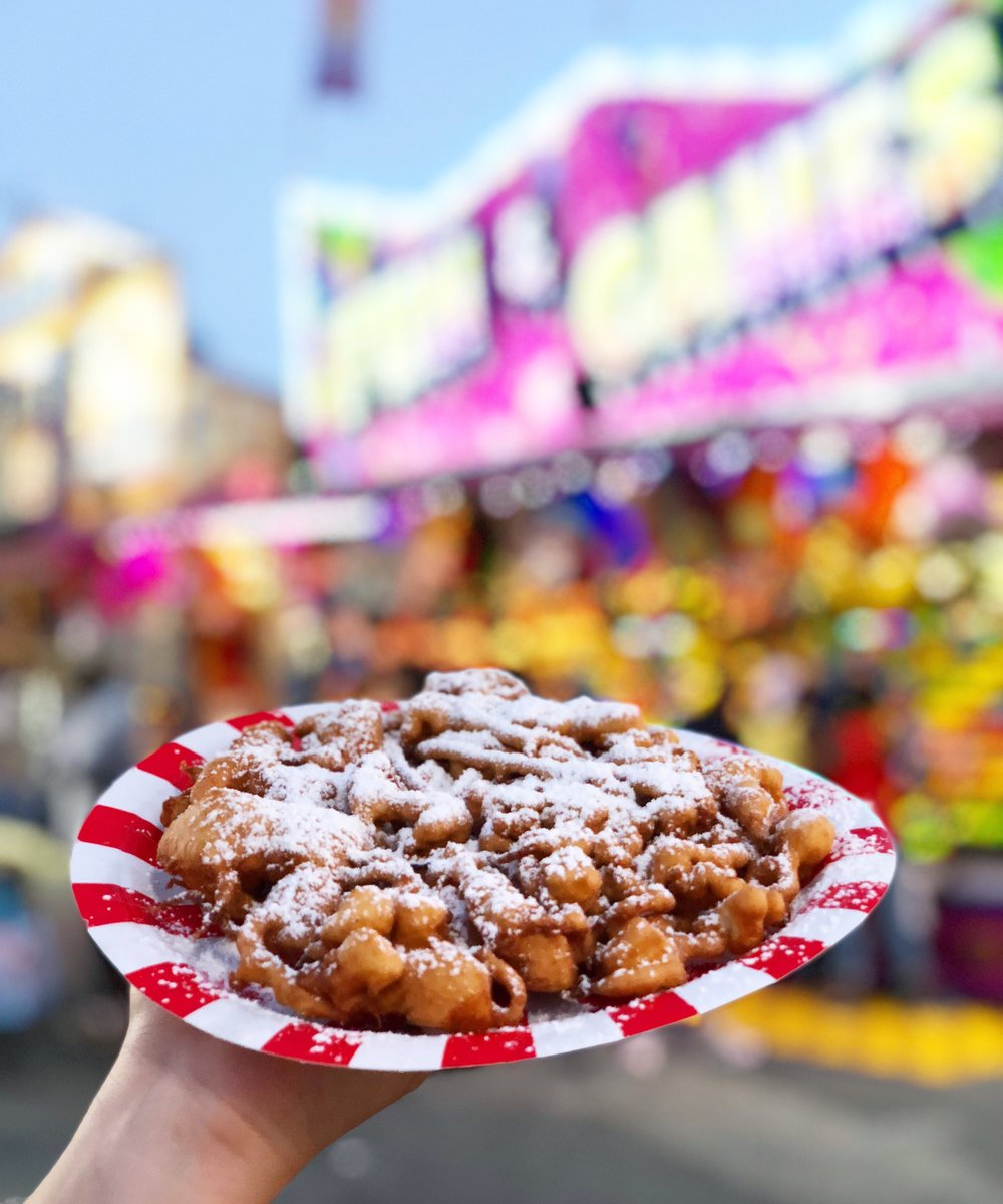 Can't go wrong with a fair classic, the funnel cake.