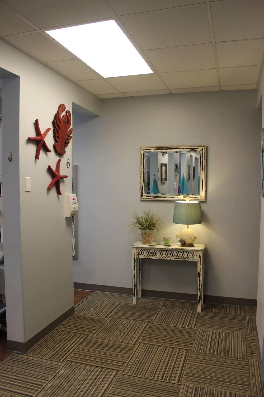 Treatment Area Hallway