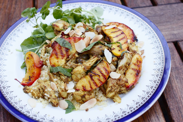 Guineafowl And Nectarine Tagine Nutmegs Seven