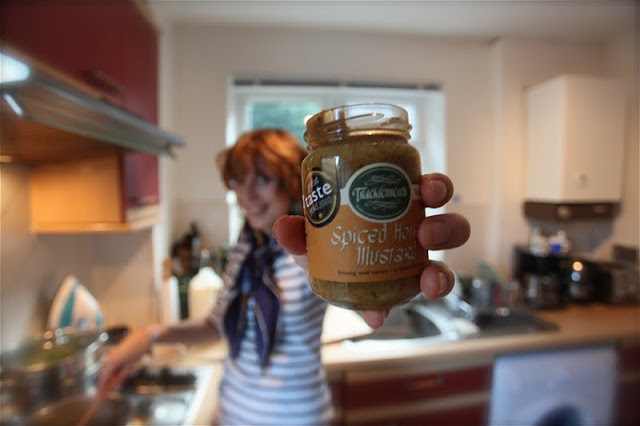 New marketing campaign for Tracklements Spiced Honey mustard, I'm certain.