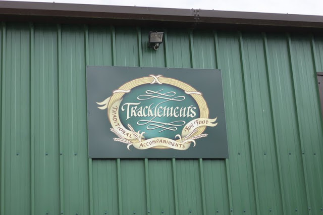 The Tracklements factory in Wiltshire.