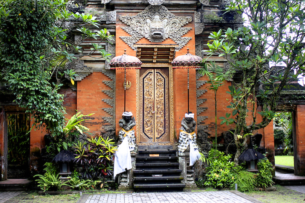 Puri Saren palace, Ubud, Bali.
