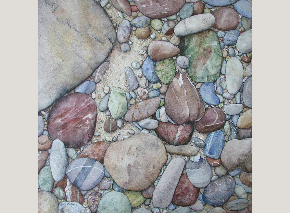 Big Sur River Stones