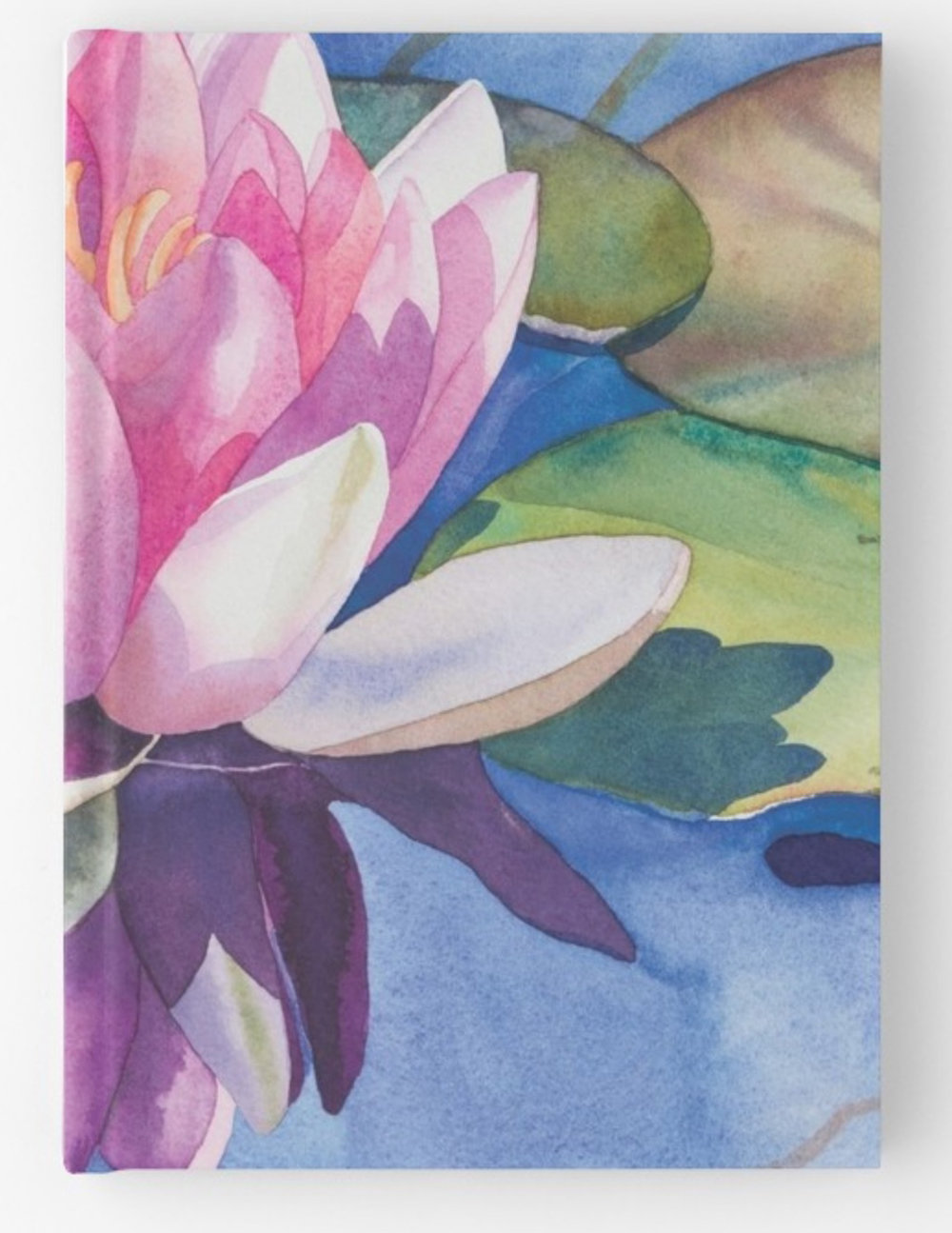 Pink-Water-Lily-Hardcover-journal.jpeg