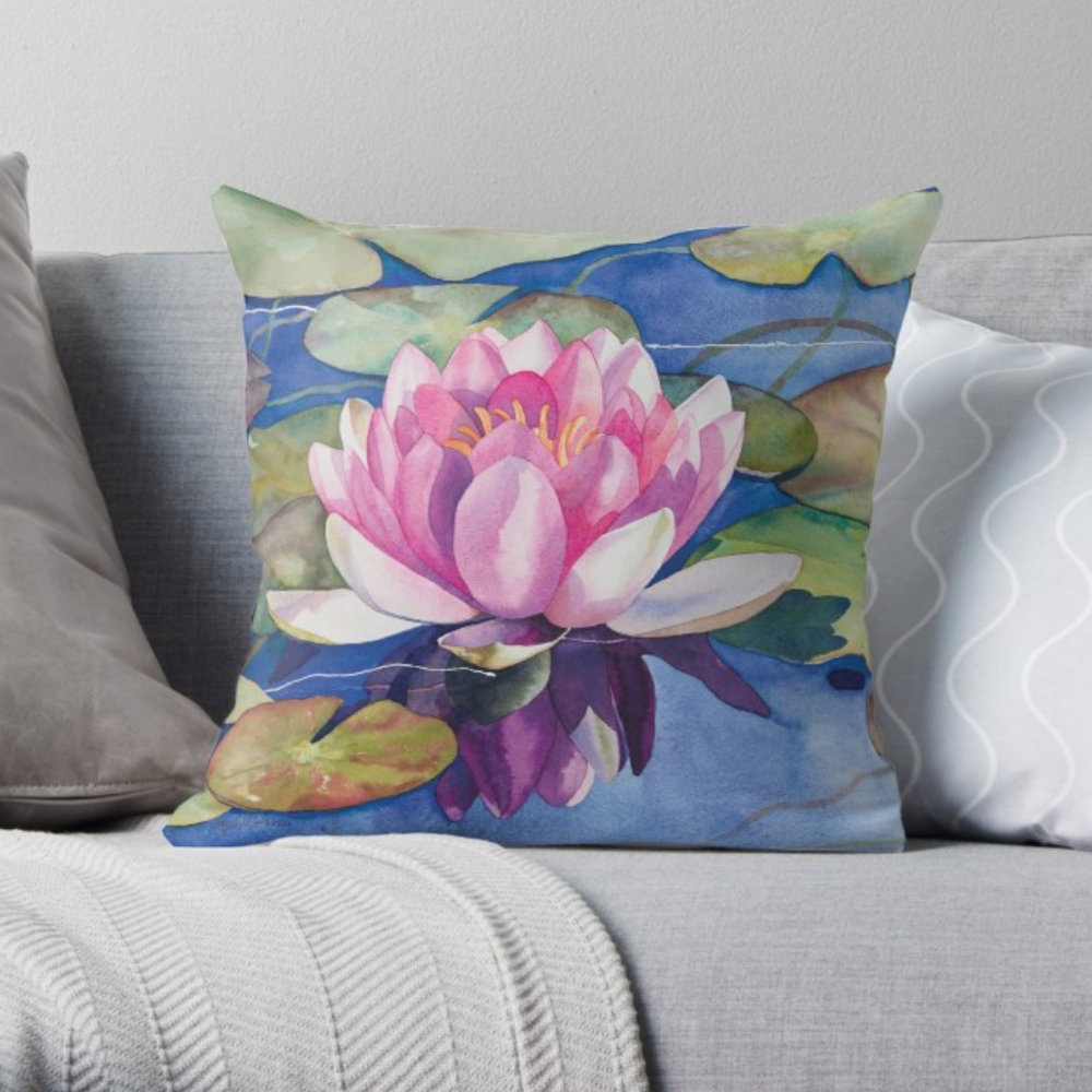 Pink-Water-Lily-Throw-Pillow-16x16.jpeg