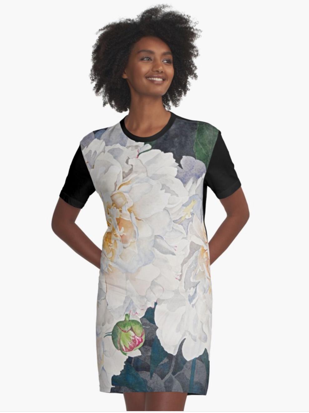 White-Peonies-Graphic-T-Dress.jpeg