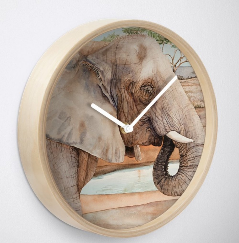 Elephant - This design is available in men's, women's and kids' apparel, home decor and gift items.