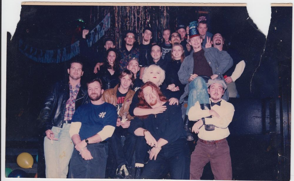 Numbers Staff New Years 1992