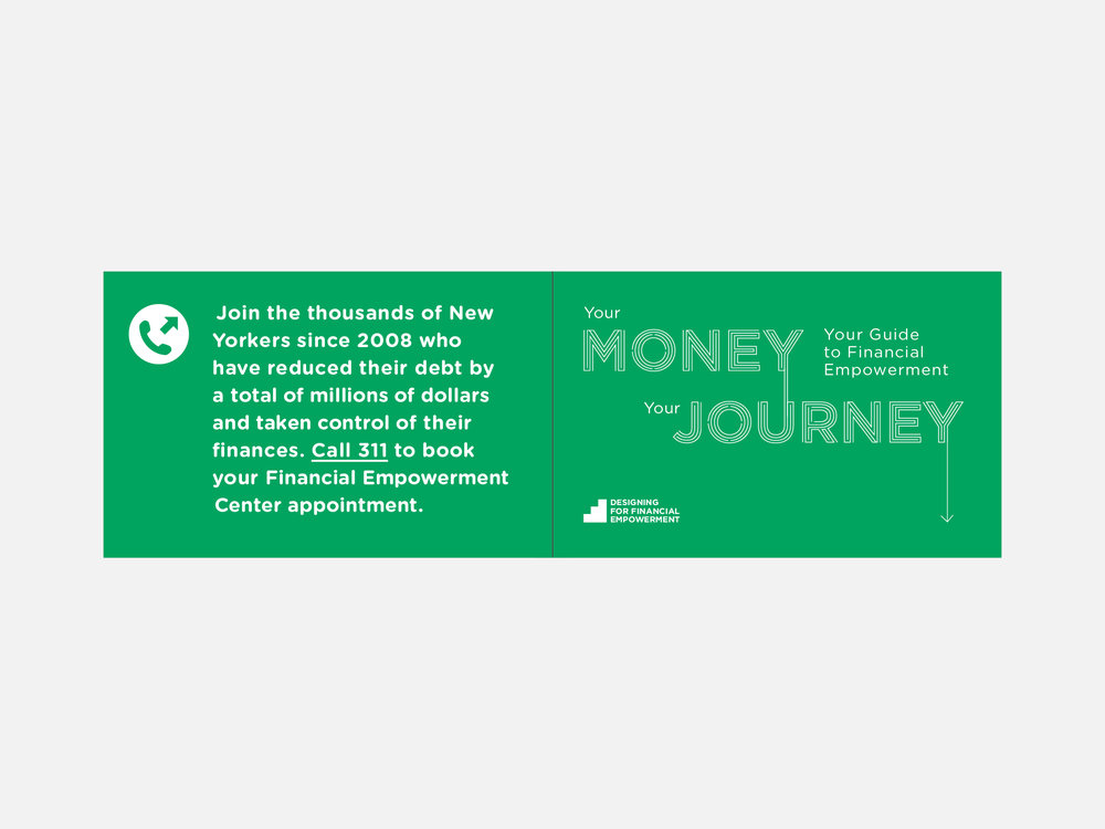 Front and Back Cover of Journey Map
