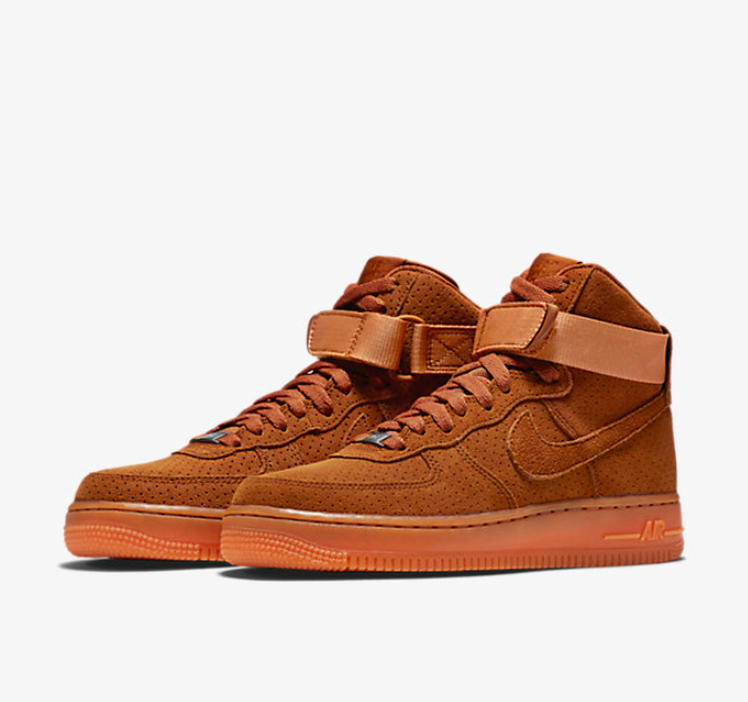 NIKE AIR FORCE 1 SUEDE HI