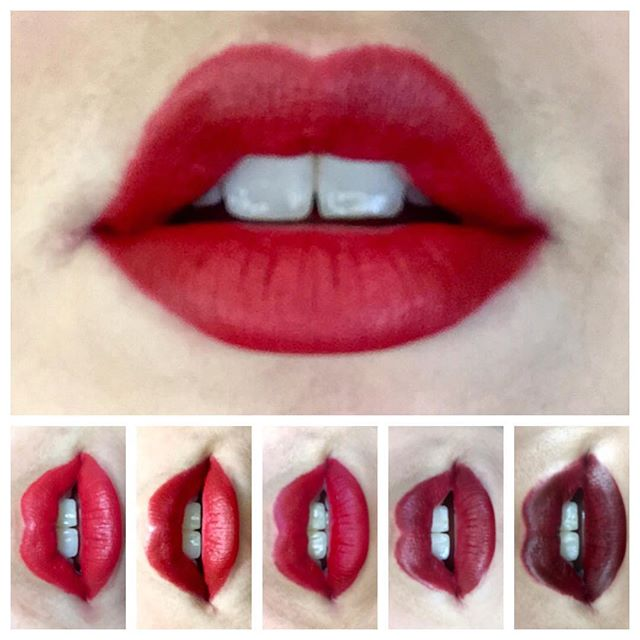 #redlipchallenge 💄😘 ・・ ・・ Week 7: The final week! And the winner is..... Besame Red! ・・ ・・ Do you want to read a more in depth review of each lipstick worn during this challenge? Starting next week, head over to my website and check my new blog and see how you can win my top picks.