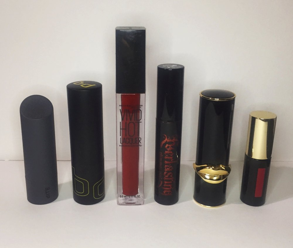 The Line Up - MaybellineBite BeautyYves Saint LaurentKat Von DBdellium ToolsPat McGrath