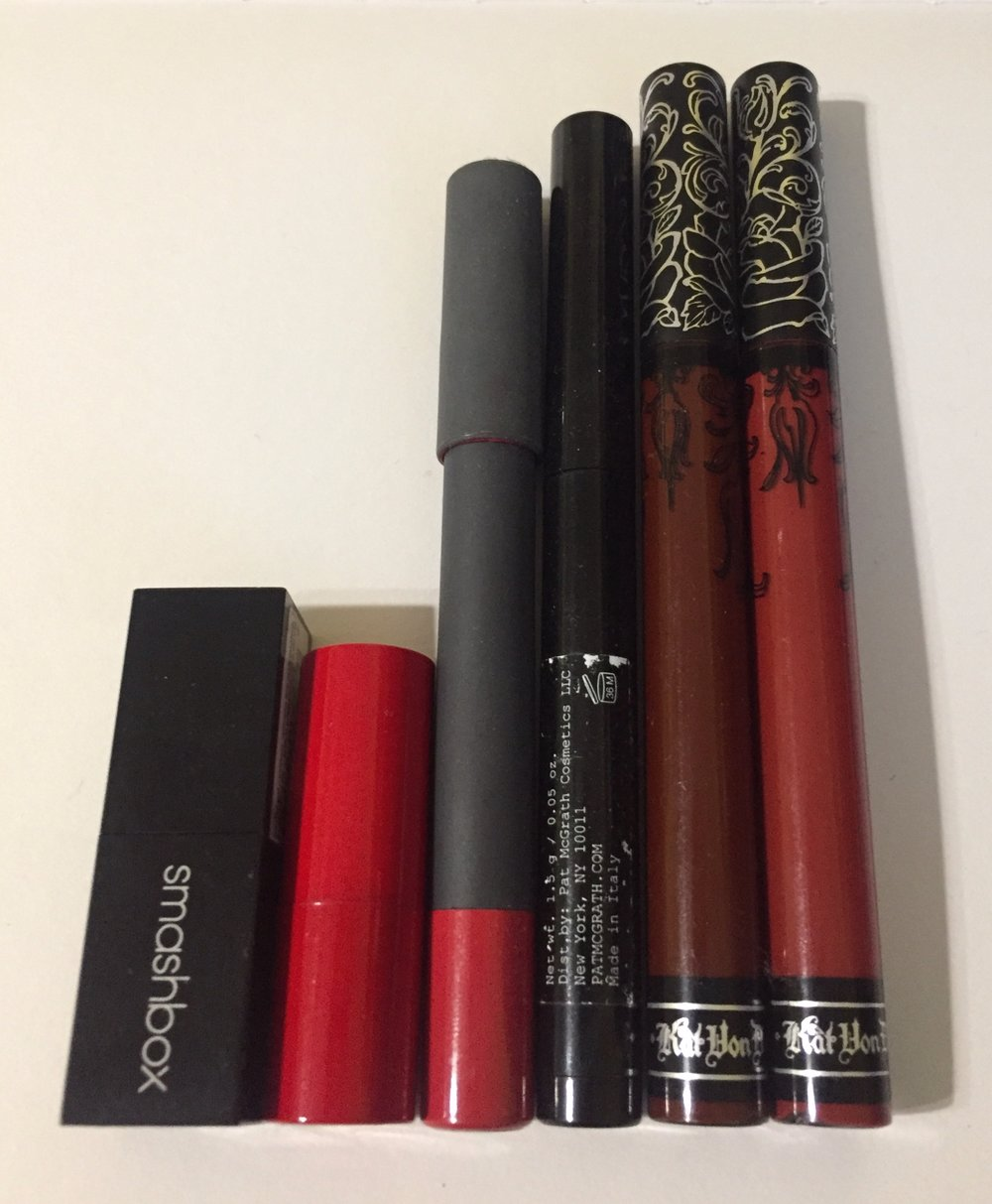 The Line Up - Bite BeautyKat Von DPat McGrathGiorgio ArmaniSmashbox