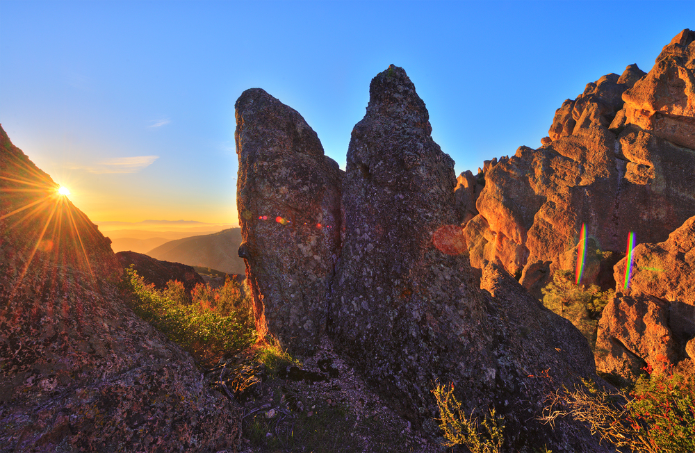 Sunrise Over America's Newest National Park: Pinnacles - ©Tom Bricker