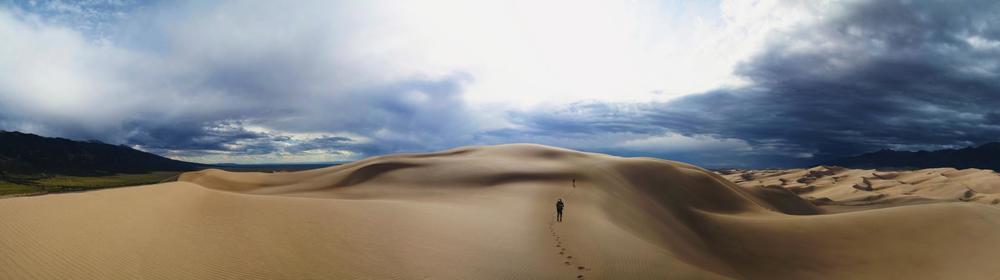 Hiking In Great Sand Dunes National Park - ©Zach Dischner